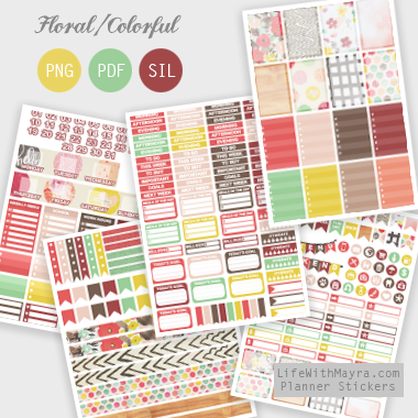 lifewithmaya com | Free Planner Stickers, Printable Stickers